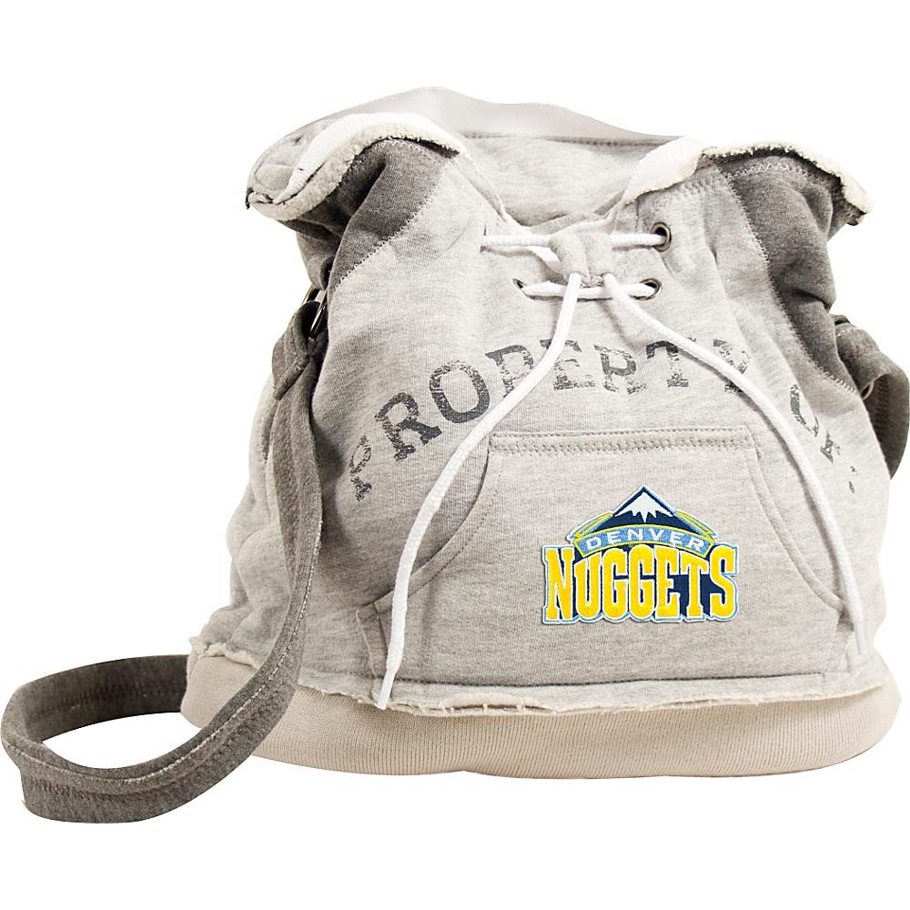 Littlearth Hoodie Shoulder Bag - NBA Teams Denver Nuggets - Littlearth Fabric Handbags
