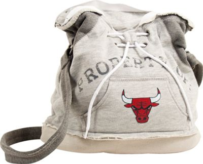 Littlearth Hoodie Shoulder Bag - NBA Teams Chicago Bulls - Littlearth Fabric Handbags