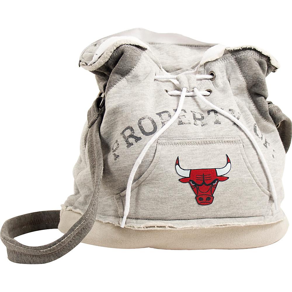 Littlearth Hoodie Shoulder Bag - NBA Teams Chicago Bulls - Littlearth Fabric Handbags