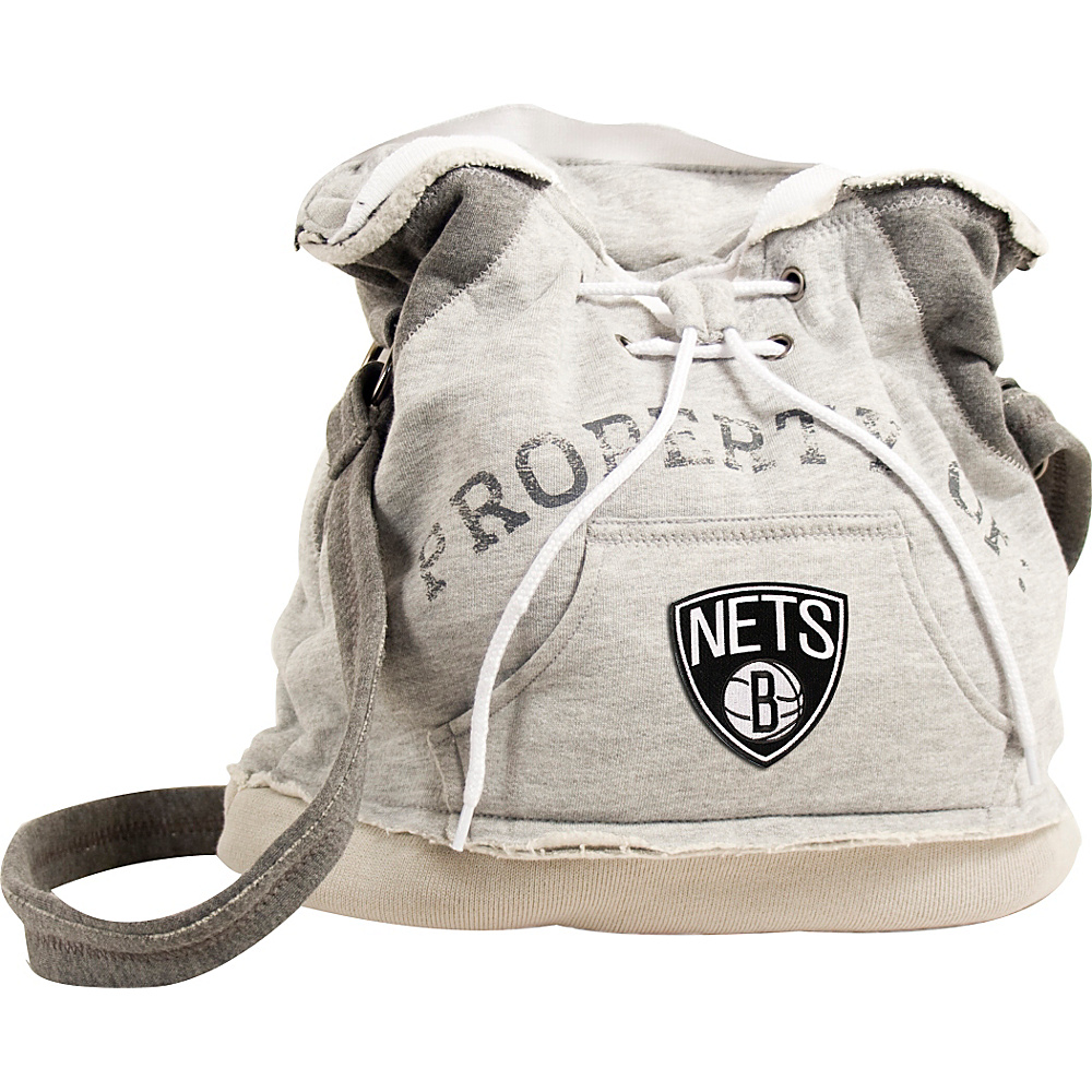 Littlearth Hoodie Shoulder Bag - NBA Teams Brooklyn Nets - Littlearth Fabric Handbags