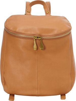 Hobo River Backpack Whiskey - Hobo Leather Handbags