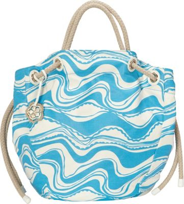 Trina Turk Sunkissed Tote Bluebird - Trina Turk Designer Handbags