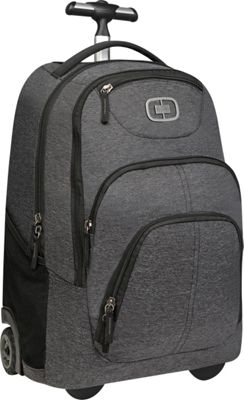 OGIO OGIO Phantom Wheeled Travel Bag Dark Static - OGIO Small Rolling Luggage