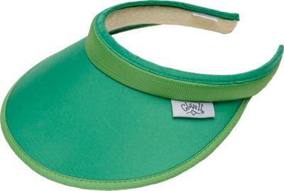 Glove It Women's Solid Slide On Visor Green - Glove It Sports Accessories