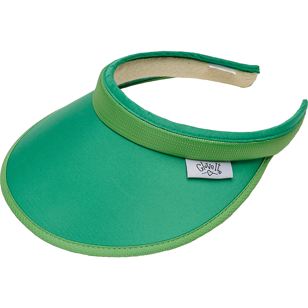 Glove It Women s Solid Slide On Visor Green Glove It Sports Accessories
