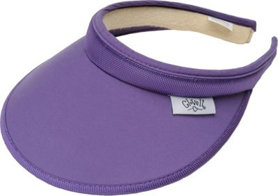 Glove It Women's Solid Slide On Visor Purple - Glove It Sports Accessories