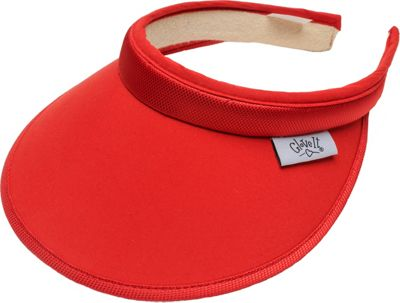 Glove It Women's Solid Slide On Visor Red - Glove It Sports Accessories