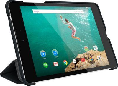 rooCASE Optigon 3D Slim Shell Folio Case Smart Cover for Nexus 9 Tablet Black - rooCASE Laptop Sleeves
