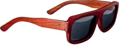 Earth Wood Daytona Sunglasses Red Rosewood - Earth Wood Sunglasses