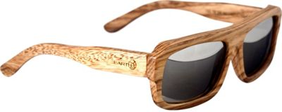 Earth Wood Daytona Sunglasses Khaki/Brown - Earth Wood Sunglasses