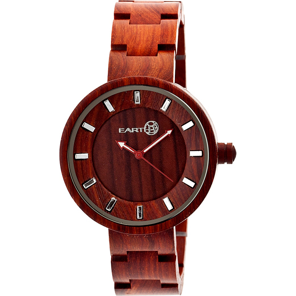 Earth Wood Root Watch Red Rosewood Earth Wood Watches