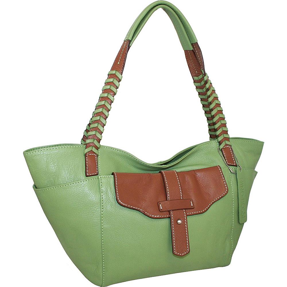 Nino Bossi Rome Around Town Tote Leaf - Nino Bossi Leather Handbags