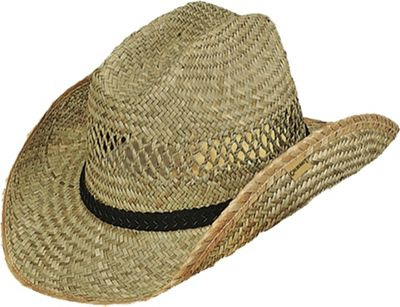 Gold Coast Rush Western Drifter Hat One Size - Natural - Gold Coast Hats/Gloves/Scarves