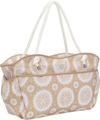 Fivesse Fivesse Beach Tote Sun Tan - Fivesse Fabric Handbags