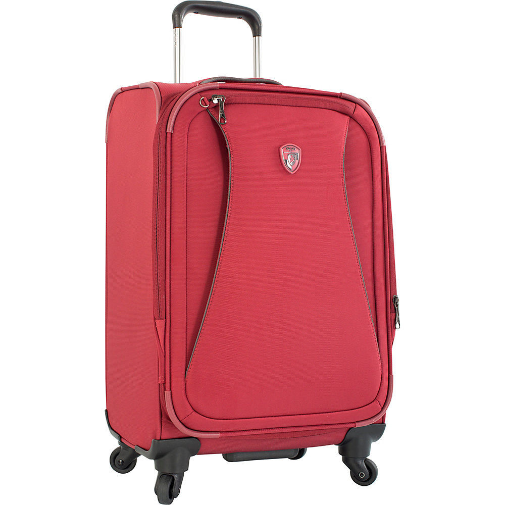 Heys America Helix 21 Carry On Spinner Luggage Red Heys America Softside Carry On