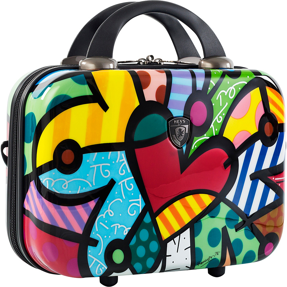 Heys America Britto Carnival Beauty Case Multi Britto Butterfly Love Heys America Hardside Carry On