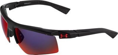 Under Armour Eyewear Core 2.0 Sunglasses Shiny Black/Gray Infrared Multiflection - Under Armour Eyewear Sunglasses 10352234