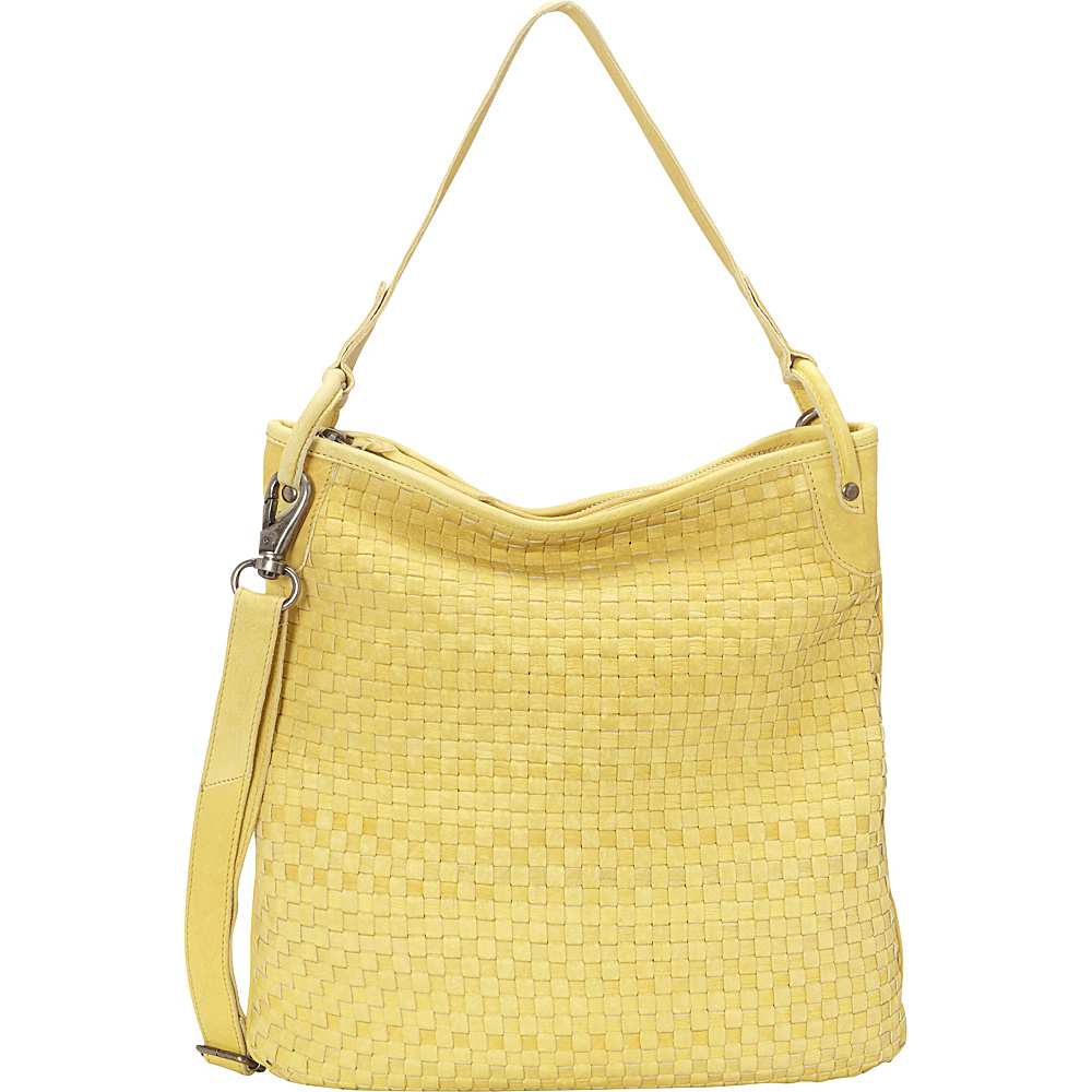 Latico Leathers Stanton Shoulder Bag Yellow - Latico Leathers Leather Handbags