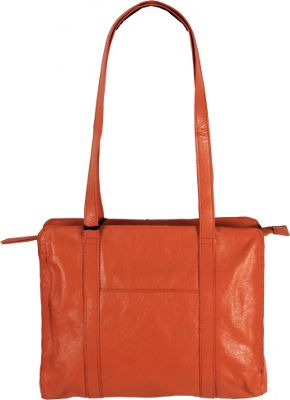 Latico Leathers Delphine Shoulder Bag Orange - Latico Leathers Leather Handbags