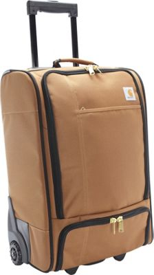 Carhartt 21 inch Carry-on Wheeled Traveler Carhartt Brown - Carhartt Softside Carry-On