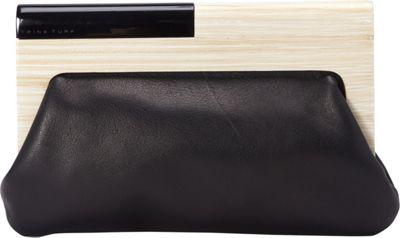 Trina Turk Sunset Soiree Clutch Black - Trina Turk Designer Handbags