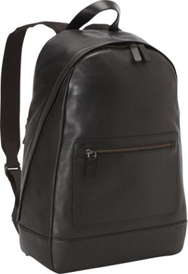 Skagen Kryer Leather Backpack Black - Skagen Laptop Backpacks