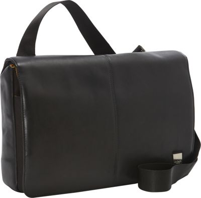 KNOMO London Kinsale Messenger Bag Black - KNOMO London Messenger Bags