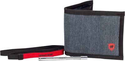 Grand Trunk Bi-Fold Wallet Mountain Grey - Grand Trunk Travel Wallets