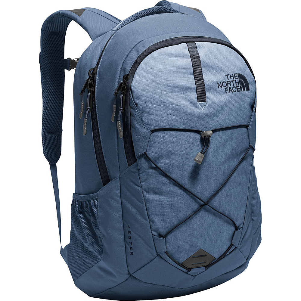 """The North Face Jester Laptop Backpack - 15"""" Shady Blue Heather/Urban Navy - The North Face Business & Laptop Backpacks"""