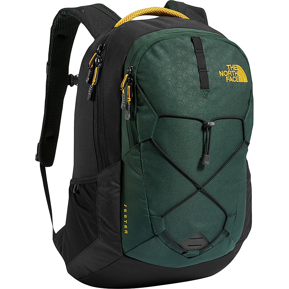 The North Face Jester Laptop Backpack - 15 Darkest Spruce Embossed - The North Face Business & Laptop Backpacks - Backpacks, Business & Laptop Backpacks