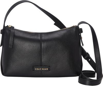 Cole Haan Emma Mini Zip Crossbody Black - Cole Haan Designer Handbags