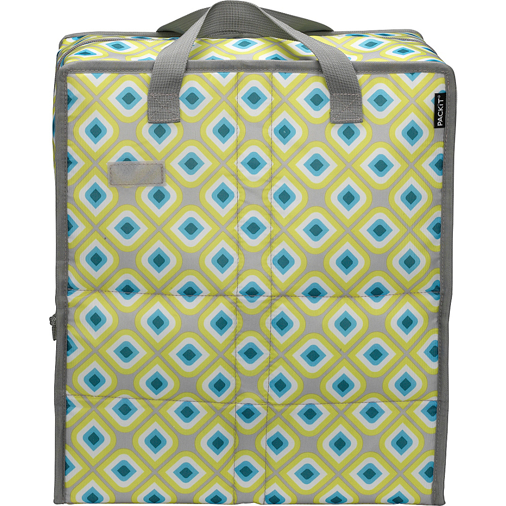 PackIt Grocery Bag Geometric - PackIt Travel Coolers