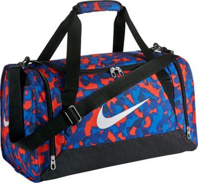 Nike Brasilia 6 Duffel Graphic Small Light Crimson/Black/White - Nike All Purpose Duffels