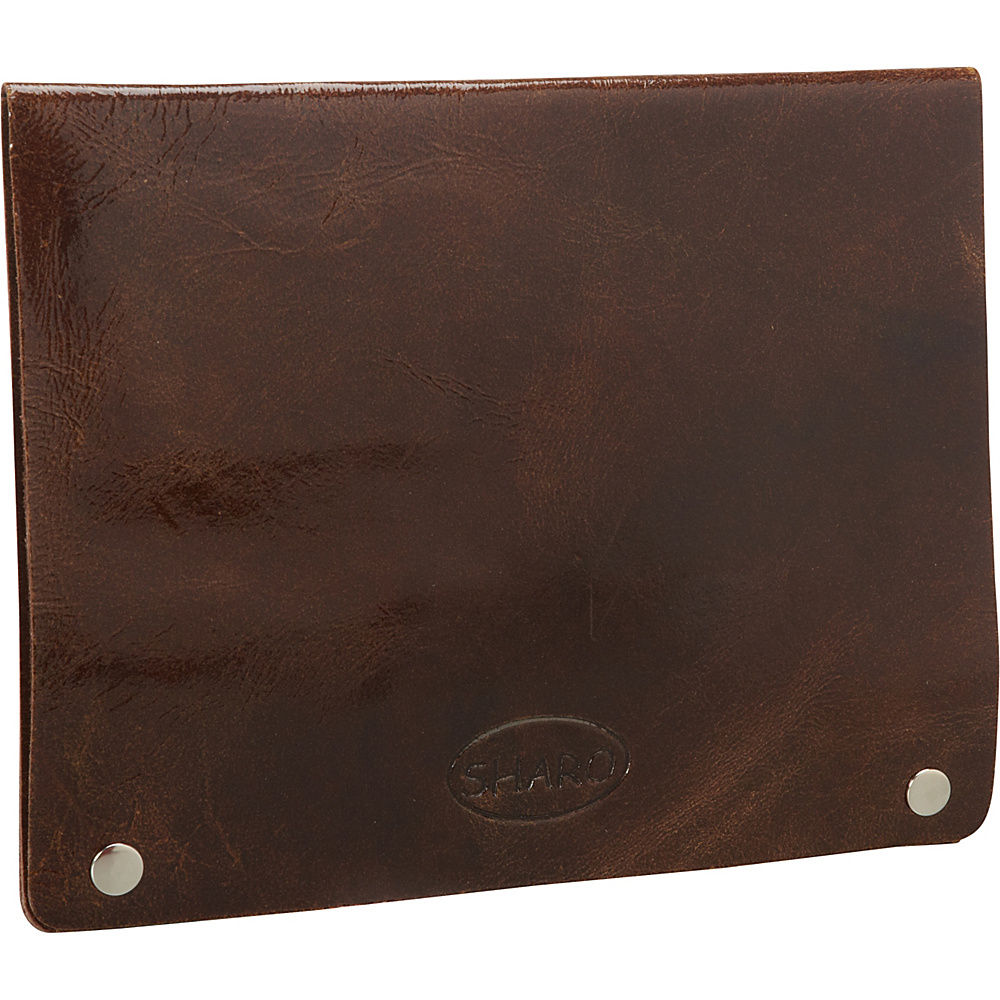 Sharo Leather Bags iPad Air Sleeve and Business Folder Brown - Sharo Leather Bags Electronic Cases