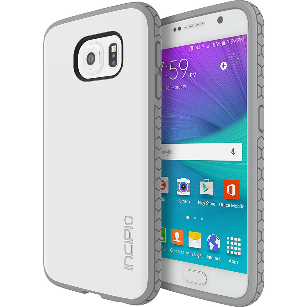Incipio Octane for Samsung Galaxy S6 White/Light Gray - Incipio Electronic Cases - Technology, Electronic Cases