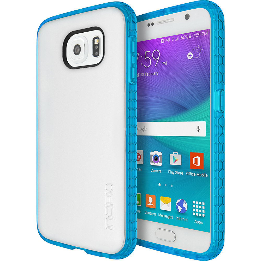 Incipio Octane for Samsung Galaxy S6 Frost/Neon Blue - Incipio Electronic Cases - Technology, Electronic Cases
