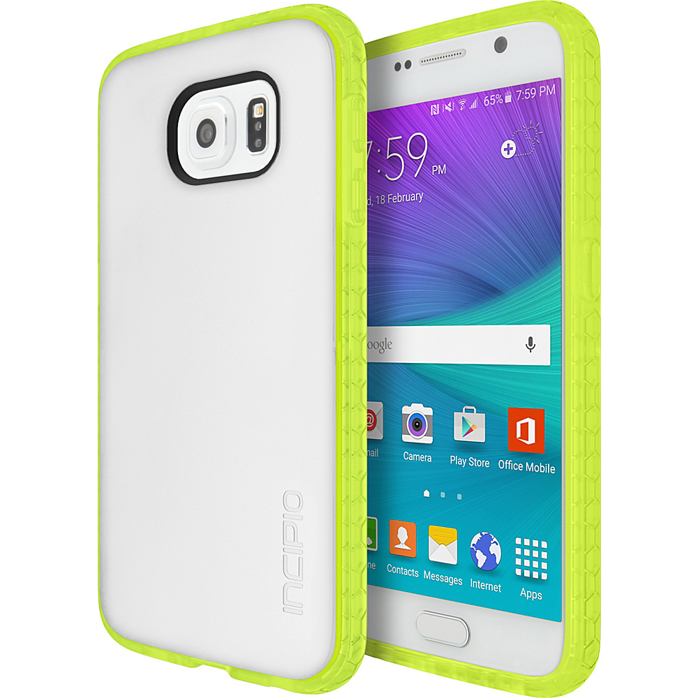 Incipio Octane for Samsung Galaxy S6 Frost/Neon Green - Incipio Electronic Cases - Technology, Electronic Cases