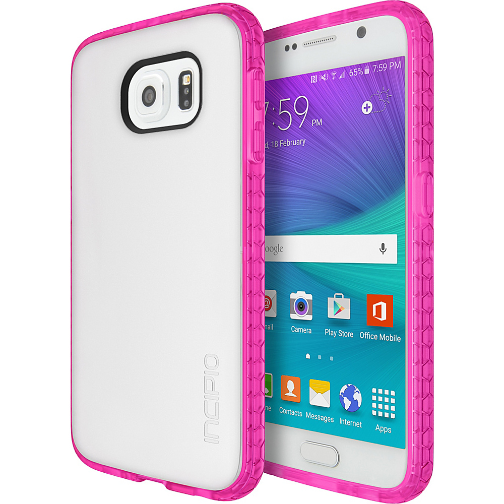 Incipio Octane for Samsung Galaxy S6 Frost/Neon Pink - Incipio Electronic Cases - Technology, Electronic Cases