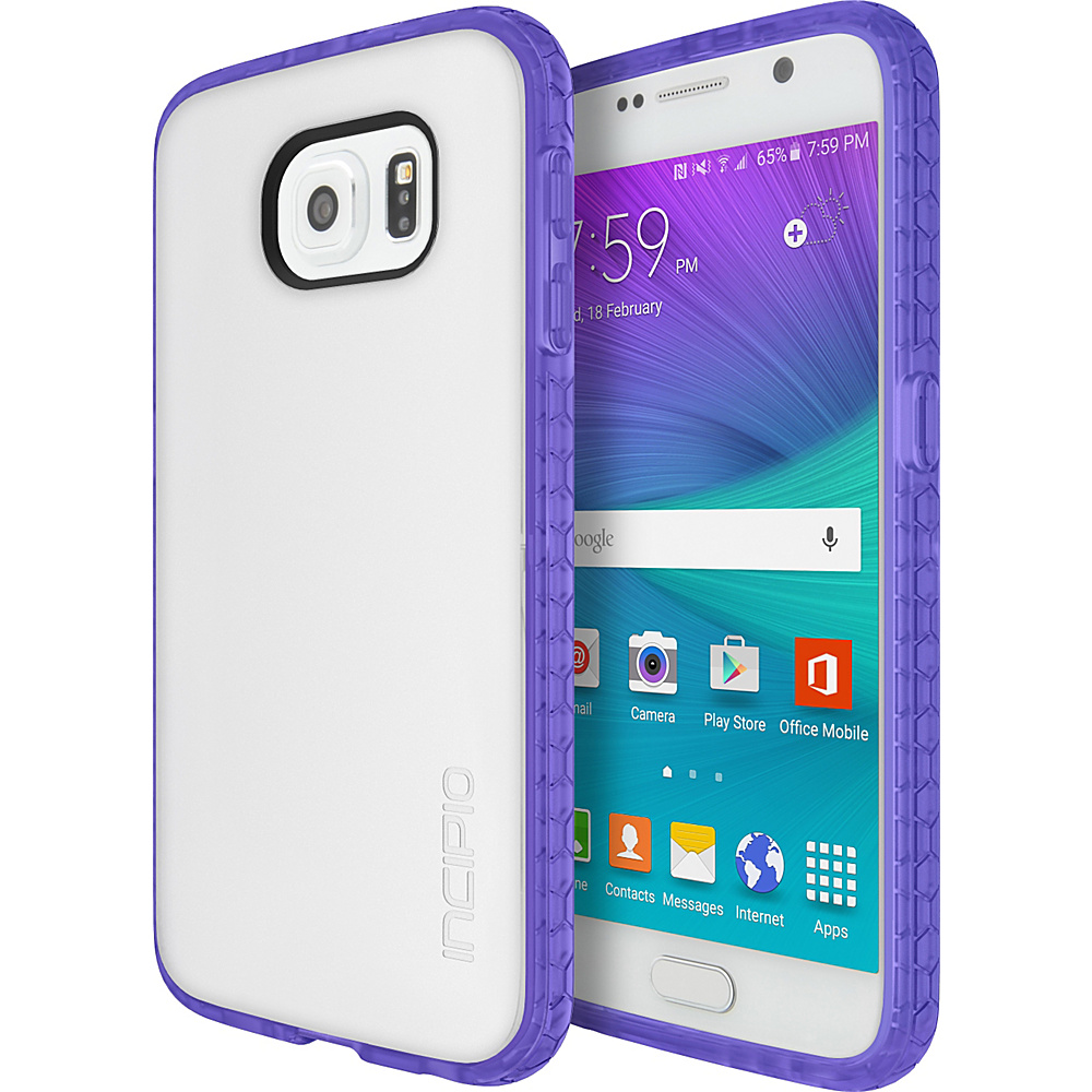 Incipio Octane for Samsung Galaxy S6 Frost/Neon Purple - Incipio Electronic Cases - Technology, Electronic Cases