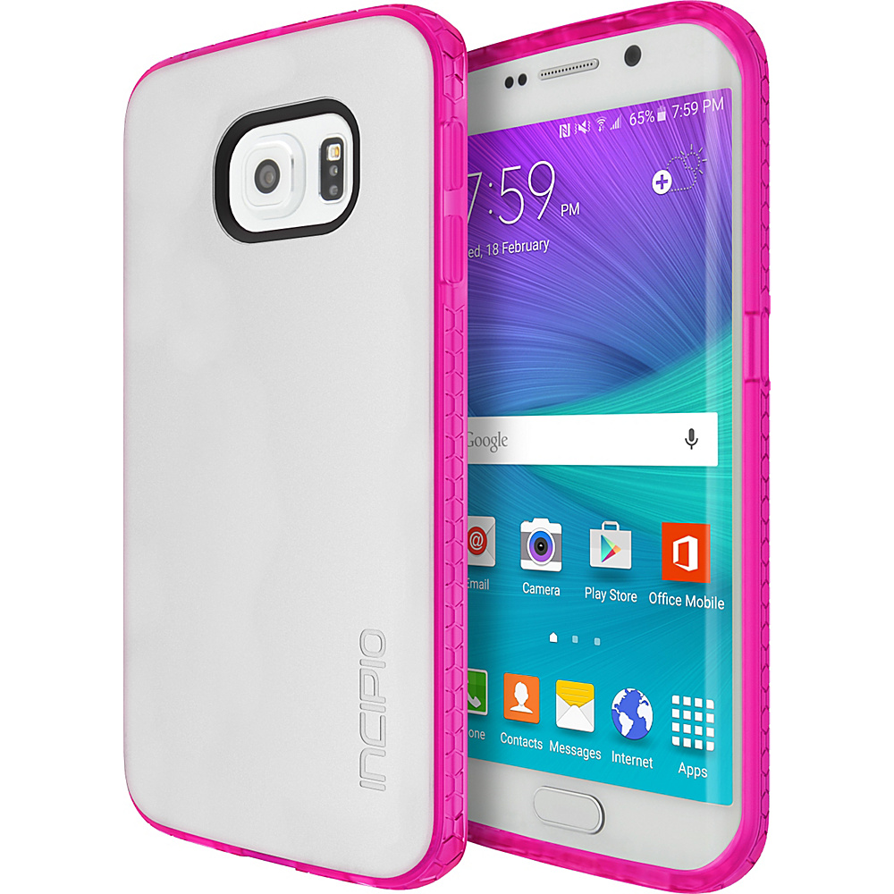 Incipio Octane for Samsung Galaxy S6 Edge Frost/Neon Pink - Incipio Electronic Cases - Technology, Electronic Cases