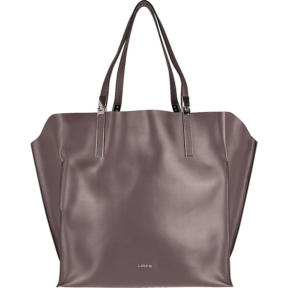 Lodis Blair Unlined Lucia Travel Tote Lava/Taupe - Lodis Leather Handbags - Handbags, Leather Handbags
