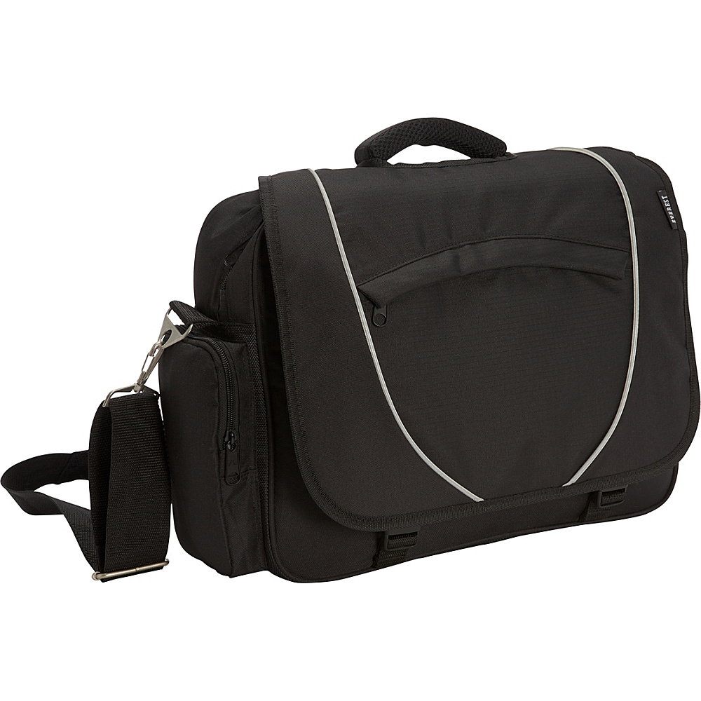 Everest Deluxe Briefcase Black Everest Non Wheeled Business Cases