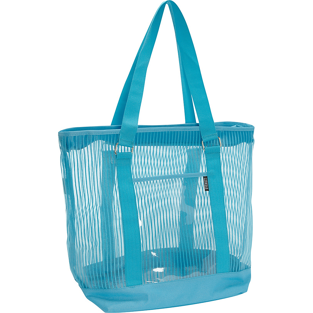 Everest Large Mesh Tote Blue - Everest All-Purpose Totes - Travel Accessories, All-Purpose Totes