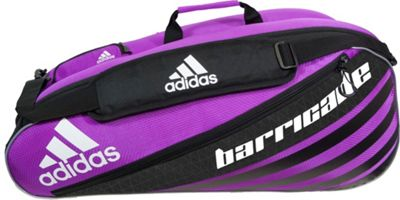 adidas Barricade IV Tour 6 Racquet Bag Flash Pink/Black - adidas Other Sports Bags