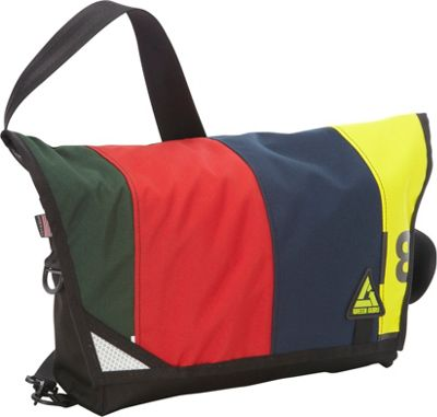 Green Guru Pedaler Messenger Multi-Colors - Green Guru Messenger Bags