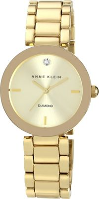 Anne Klein Watches Gold-Tone Bracelet Watch Gold - Anne Klein Watches Watches