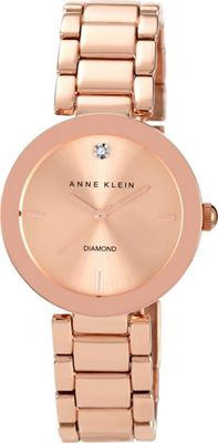 Anne Klein Watches Gold-Tone Bracelet Watch Rose Gold - Anne Klein Watches Watches