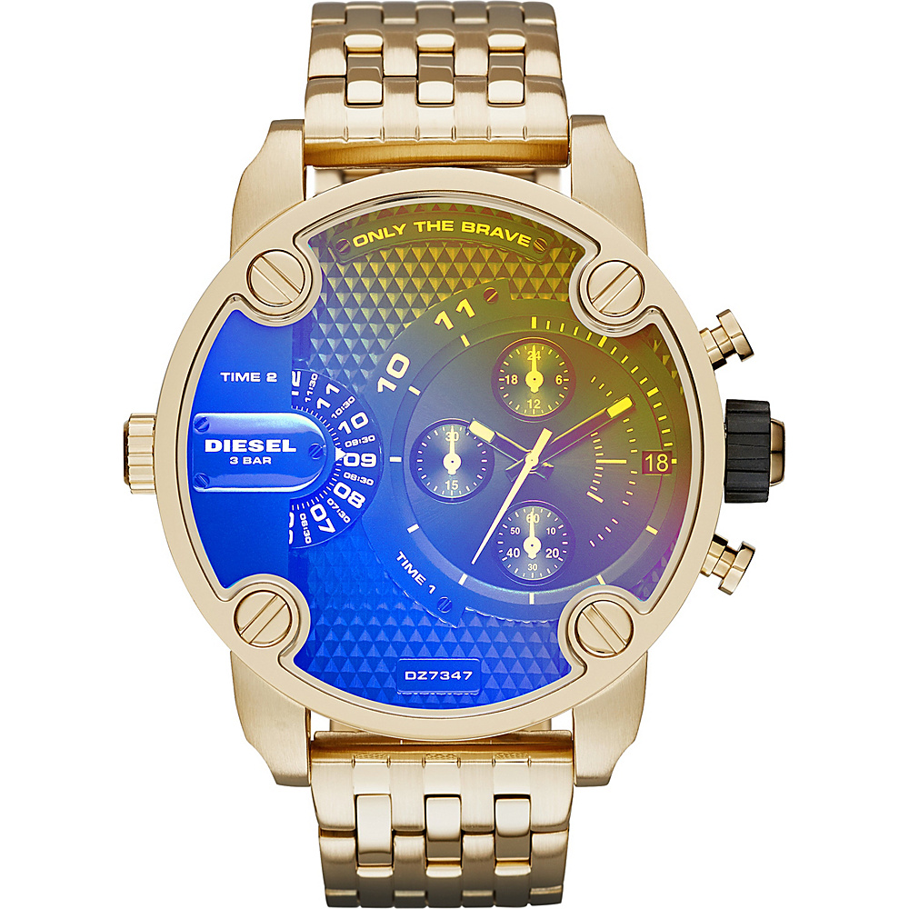 Diesel Watches Little Daddy Watch Gold - Diesel Watches Watches
