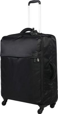 Lipault Paris Originial Plume Spinner 72/26 Luggage Black - Lipault Paris Softside Checked