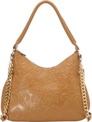Tiffany & Fred Monica Hobo Natural - Tiffany & Fred Leather Handbags